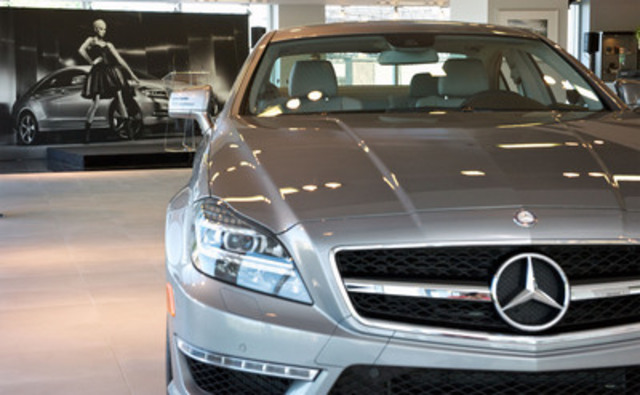 Mercedes benz canada and img announce the launch of the for Mercedes benz in canada
