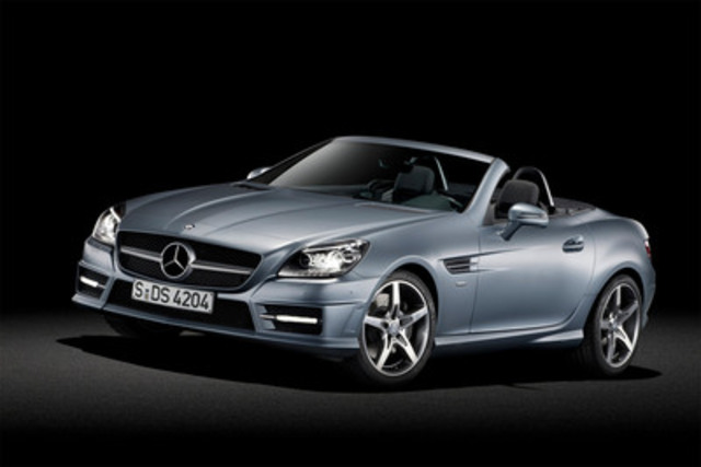 The all new mercedes benz slk for Mercedes benz in canada