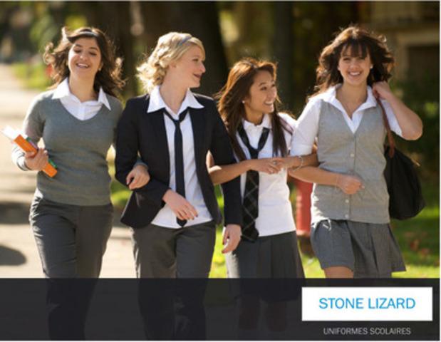 ... uniformes scolaires stone lizard explique comment la détermination d