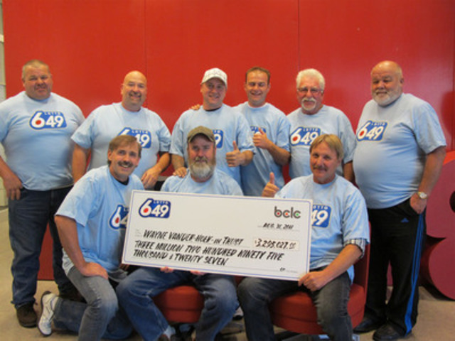 Canada Lotto 649: Winning numbers for.
