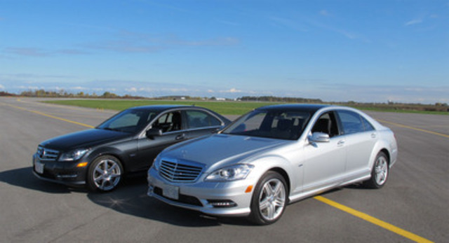 mercedes benz canada earns two prestigious awards from the