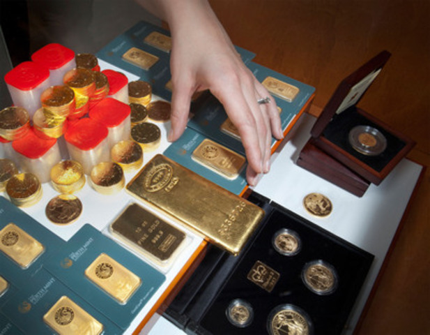 The world's largest  99999 pure gold coin makes rare appearance in