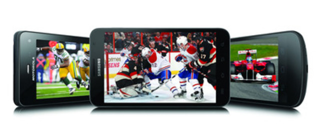 bell announces its most exciting mobile tv sports lineup cnw group ...