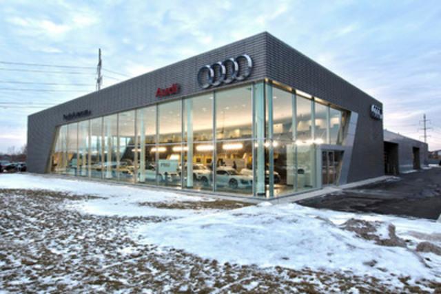 Audi Monterey Peninsula First Audi Terminal Open Its Doors In Canada - Monterey audi