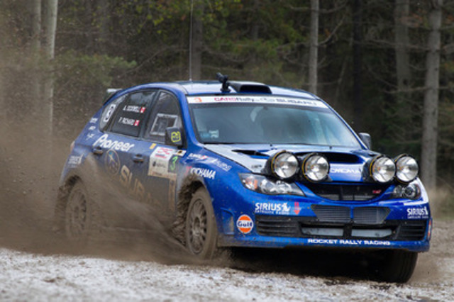 Subaru Wrc http://www.newswire.ca/en/story/981725/subaru-rally-team-canada-claims-second-at-rocky-mountain-rally
