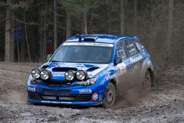 Subaru Rally Team Canada Claims Second at Rocky Mountain Rally