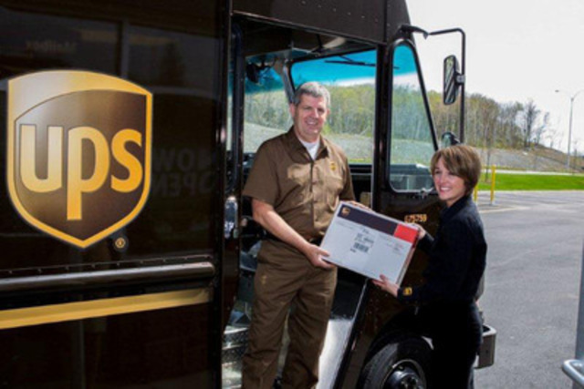 CNW   First Delivery in Halifax - The UPS Store