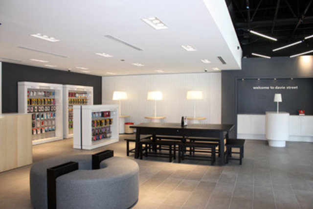 Rogers unveils innovative new retail store design in for New ideas for retail stores