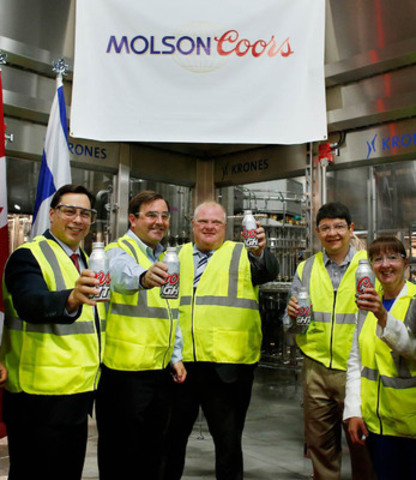 Molson Coors Brewing Company   $13.5 Million Investment   Molson Coors  Inaugurates A New Flexible Packaging Line At Its Toronto Brewery Awesome Ideas