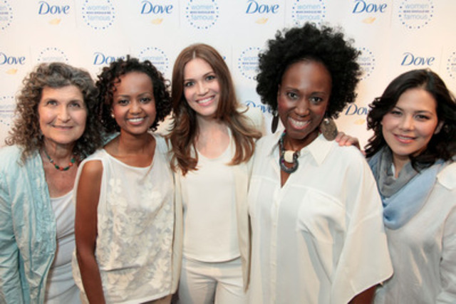 Dove Models http://www.newswire.ca/en/story/1000375/dove-and-mandy-moore-unveil-strong-female-role-models