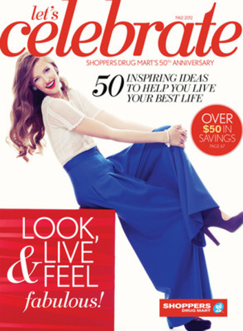 Shoppers drug mart kicks off 50th anniversary with a 16 for Anniversary magazine