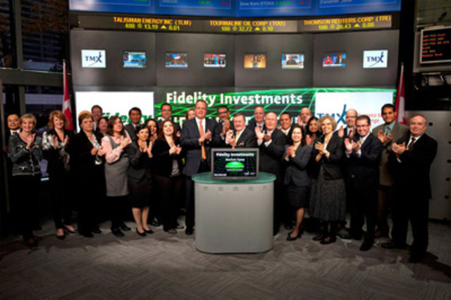 Fidelity Investments Canada ULC celebrates its silver anniversary
