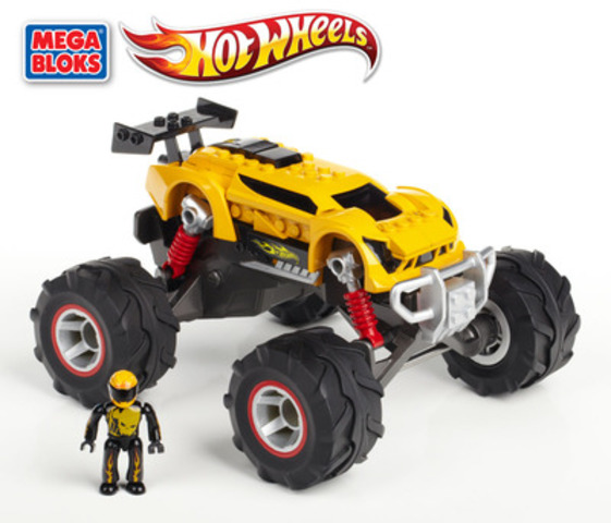 Hot Wheels Toys : Mega bloks hot wheels™ construction sets unveiled at new