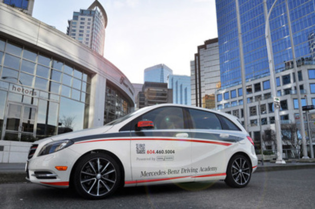 canada mercedes benz launches its first canadian driving academy. Cars Review. Best American Auto & Cars Review