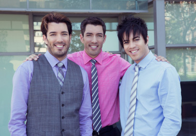 Property brothers drew and jonathan scott named world Who are the property brothers