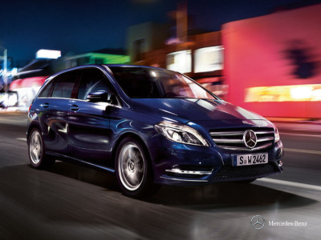 Cnw mercedes benz canada announces four b class social for Mercedes benz richmond bc