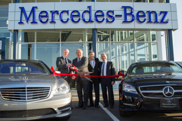 Mercedes benz expands operations in nanaimo by opening a for Mercedes benz dealer northern blvd