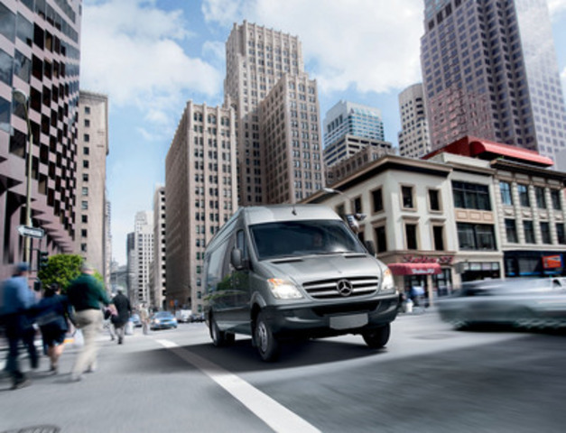 The mercedes benz sprinter continues to set the benchmark for Mercedes benz in canada