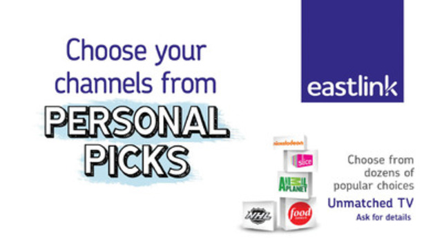 how to add channels on eastlink