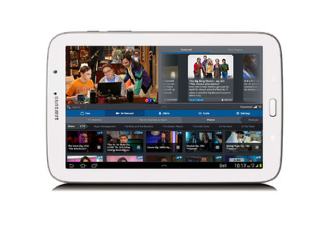 """Mobilesyrup on twitter: """"bell fibe tv app users can now download."""