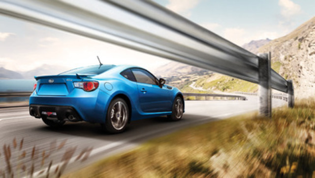 cnw 2014 subaru brz a nimble rear wheel drive sports coupe. Black Bedroom Furniture Sets. Home Design Ideas