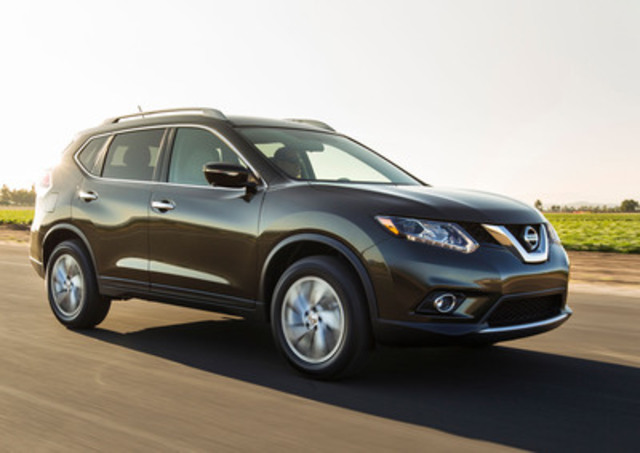 cnw all new 2014 nissan rogue makes north american debut. Black Bedroom Furniture Sets. Home Design Ideas