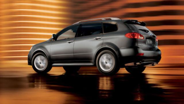Subaru Canada Inc. | 2014 Subaru Tribeca: Stylish, Powerful, Versatile