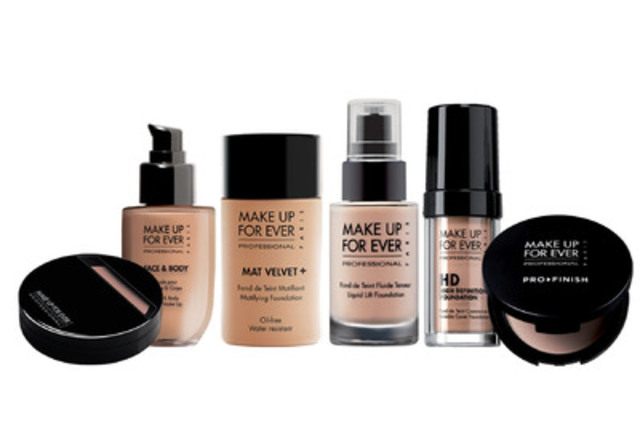 make up for ever launches foundation nation campaign after study reveals women s top foundation. Black Bedroom Furniture Sets. Home Design Ideas