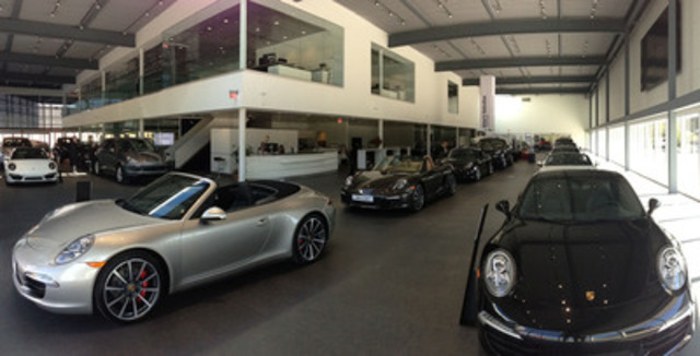 Car Dealers Toronto >> Canada's most technologically advanced Porsche dealership ...