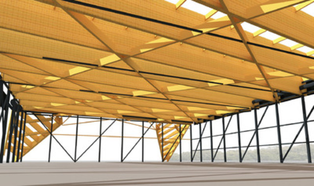 Des contrats de plus 10 m pour nordic structures bois for Structure de bois