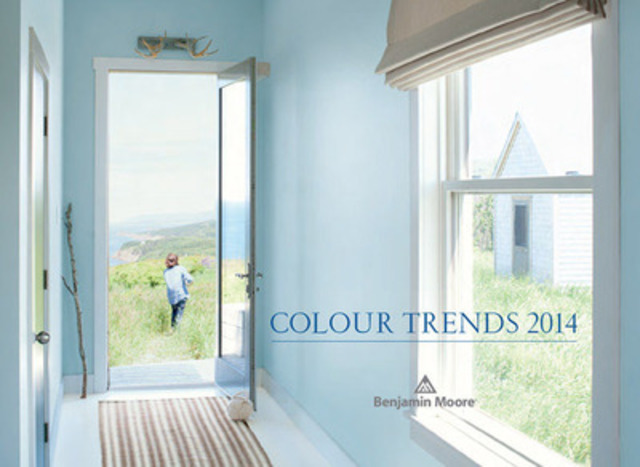 Benjamin Moore Unveils Breath Of Fresh Air 806 As Its