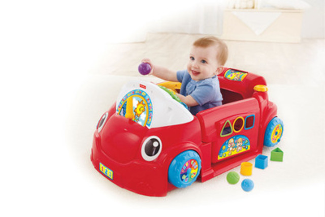Car Seat Toy Fisher Price : Fisher price canada inc laugh learn
