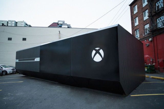 Xbox Unveils Colossal Xbox One Console to Celebrate the Biggest
