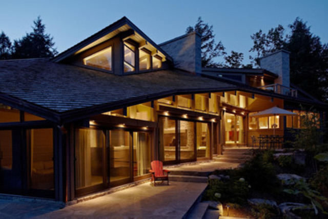 Ontario wood works award winners announced sustainable for Award winning architects