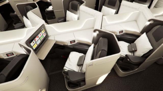 Air canada premiers new boeing 787 dreamliner cabin interiors for Cabine in delhi la