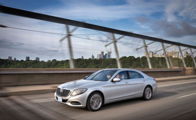 Mercedes benz s class named best new prestige car by the for Mercedes benz in canada
