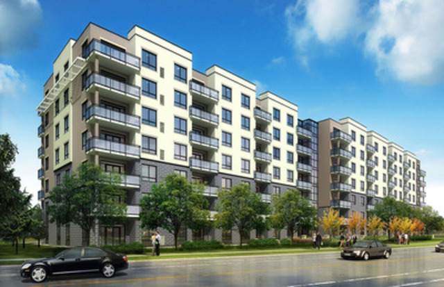 Killam properties inc begins construction of 122 unit for Residential pictures