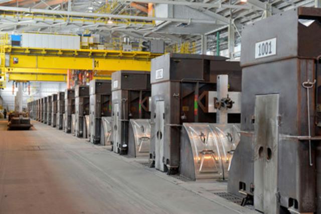 Rio tinto alcan inaugure son usine d 39 lectrolyse ap60 de for Interieur usine
