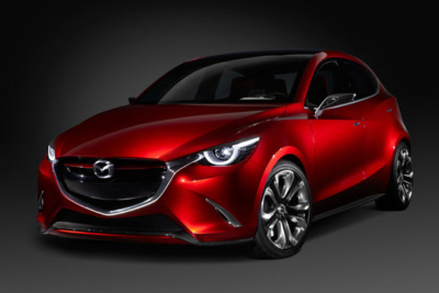 Mazda Reveals Mazda Hazumi Concept Car At Geneva Motor
