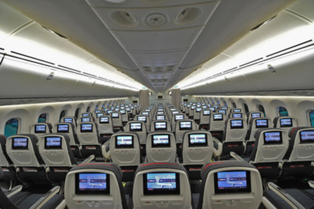 Air Canada Debuts New International Cabin Interiors with Arrival of ...