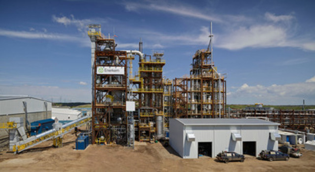 Enerkem launches world's first, game-changing full-scale