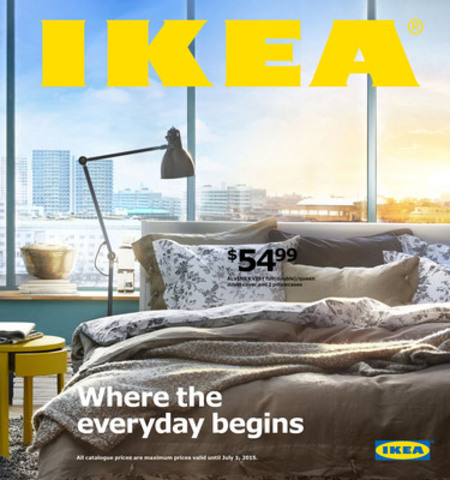 The 2015 Ikea Catalogue Is Here
