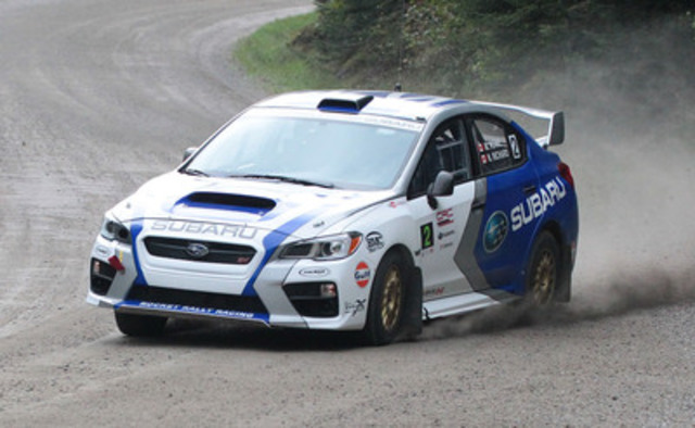 Subaru Brings New Car And Driver Scores Second At Rallye D 233 Fi