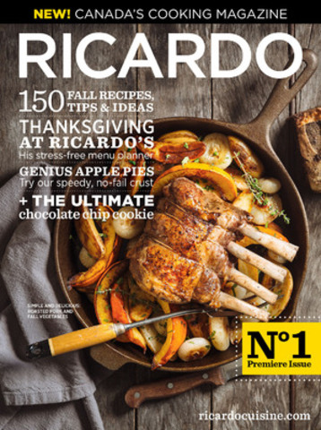 now in english celebrity chef ricardo launches canada 39 s