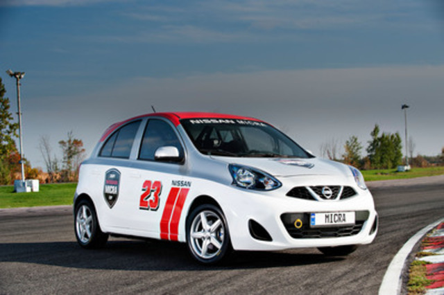 nissan et jd motorsport lancent la coupe nissan micra la s rie de courses automobiles la plus. Black Bedroom Furniture Sets. Home Design Ideas