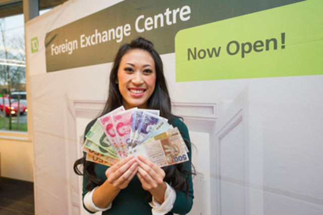 TD opens Foreign Exchange Centre in downtown Richmond - Dec 6, 2014