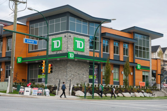 New Td Branch In Coquitlam Combines Customer Service With