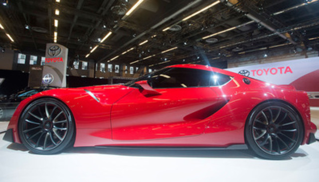 Cnw la toyota ft 1 produit une pouss e d 39 adr naline l for Salon de auto 2015