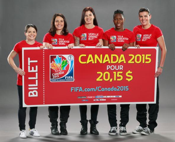 Cnw coupe du monde f minine de la fifa canada 2015 - Coupe du monde feminine de la fifa canada 2015 ...