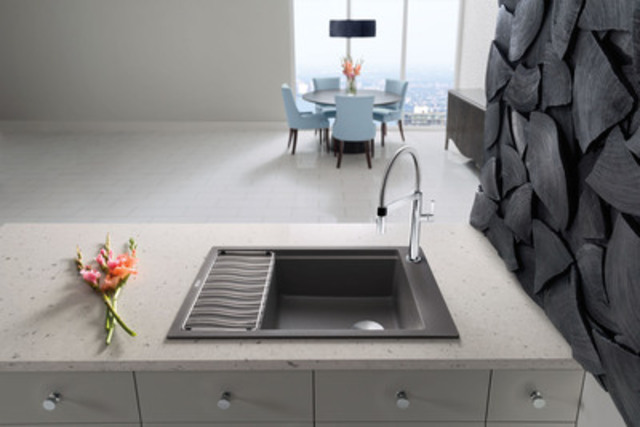 blanco precis with drainboard new silgranit sink. Black Bedroom Furniture Sets. Home Design Ideas